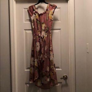 Dresses & Skirts - Flower Print Romper